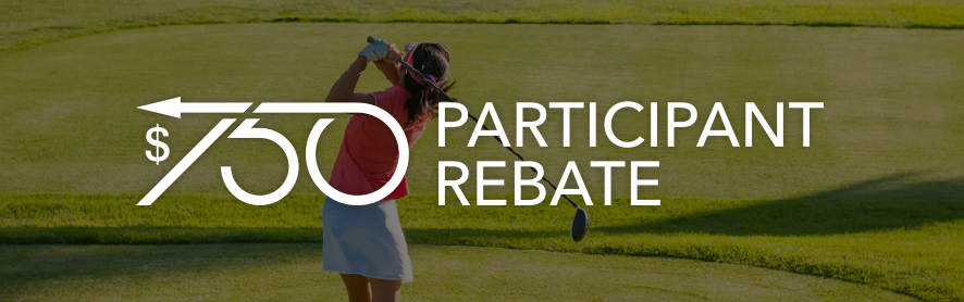Golf Fore the Cure Participant Rebate